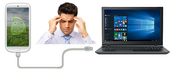 still use usb cable to connect smartphones and windows pc